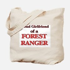Proud Girlfriend of a Forest Ranger Tote Bag