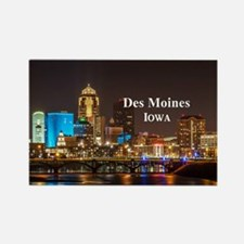 Des Moines Rectangle Magnet (10 pack)