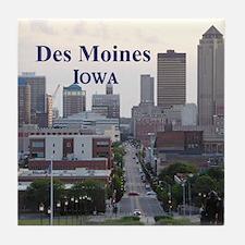 Des Moines Tile Coaster