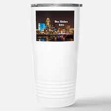 Des Moines Travel Mug