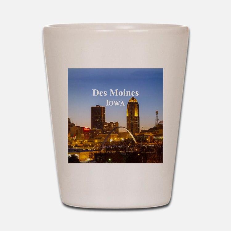 Des Moines Shot Glass