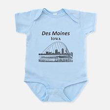 Des Moines Infant Bodysuit