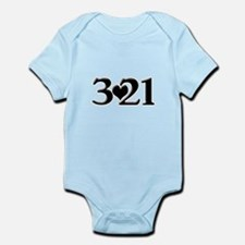 321 Down Syndrome Awareness Day Body Suit