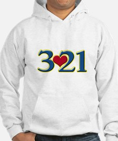 321 Down Syndrome Awareness Day Hoodie
