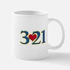 321 Down Syndrome Awareness Day Mugs
