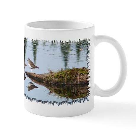 Solitary Sandpiper Mug