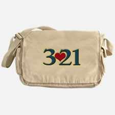 321 Down Syndrome Awareness Day Messenger Bag