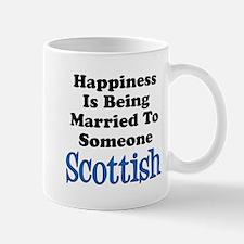 Happiness Married To Someone Scottish Mugs