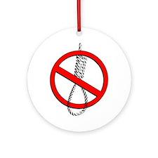 Anti Racism Ornament (Round)