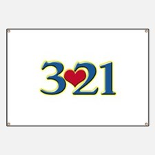 321 Down Syndrome Awareness Day Banner