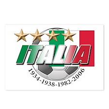 Italian soccer emblem Postcards (Package of 8)