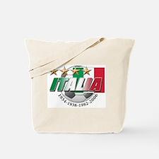Italian soccer emblem Tote Bag