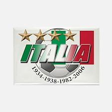 Italian soccer emblem Rectangle Magnet