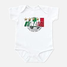 Italian soccer emblem Infant Bodysuit