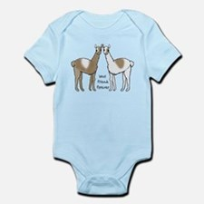 cute llamas bff Body Suit