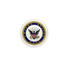 NAVY  Mini Button (10 pack)