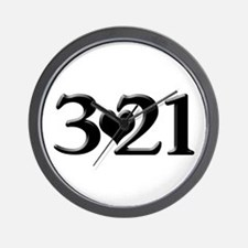 321 Down Syndrome Awareness Day Wall Clock