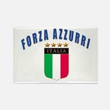 Forza azzurri Rectangle Magnet
