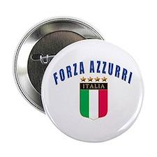 """Forza azzurri 2.25"""" Button (10 pack)"""