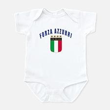 Forza azzurri Infant Bodysuit