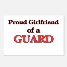 Proud Girlfriend of a Gua Postcards (Package of 8)