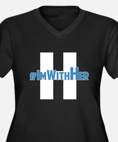 #ImWithHer Plus Size T-Shirt