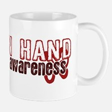 Hand in Hand for AIDS Awareness Mug