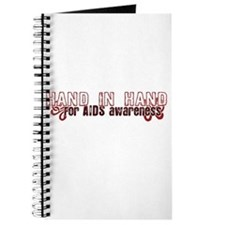 Hand in Hand for AIDS Awareness Journal