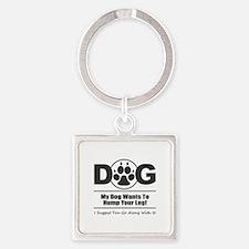 Dog Hump Leg Keychains