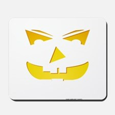 Maniacal Carved Pumpkin Mousepad