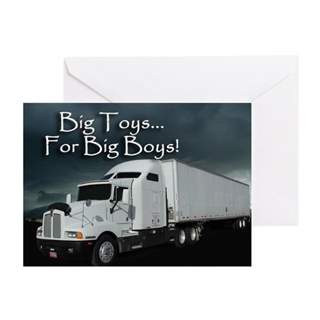 For Big Boys Greeting Cards (Pk of 10)