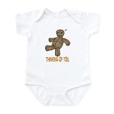 Voodoo Doll Infant Bodysuit