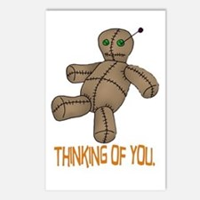 Voodoo Doll Postcards (Package of 8)