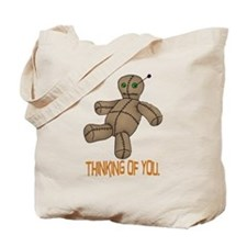 Voodoo Doll Tote Bag