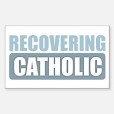 Recovering Catholic Decal