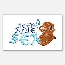 Deep Blue Sea Decal