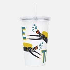 Dive Team Acrylic Double-wall Tumbler