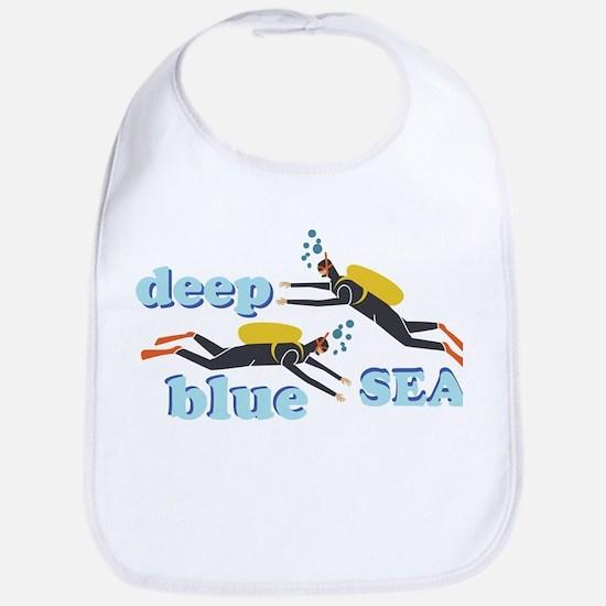 Deep Blue Sea Bib