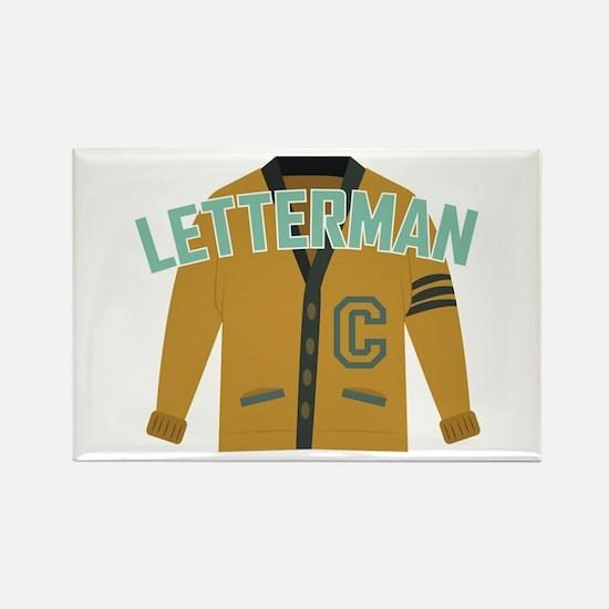 Letterman Magnets