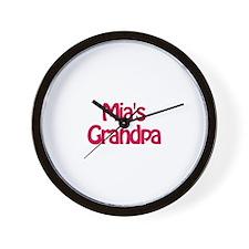 Mia's Grandpa Wall Clock