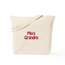 Mia's Grandpa Tote Bag