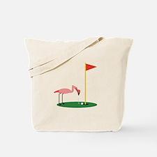 Golf Birdy Tote Bag
