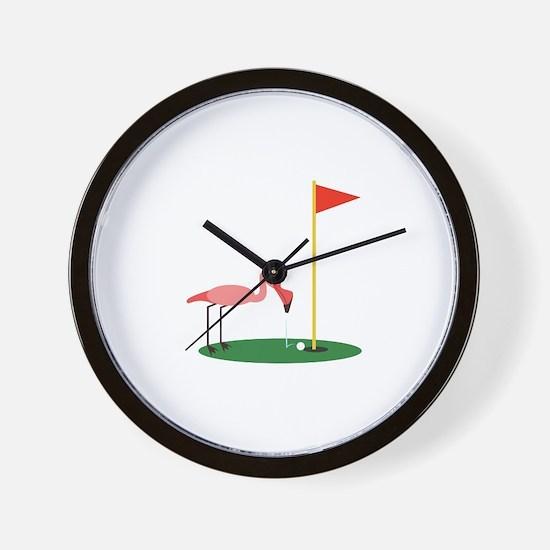 Golf Birdy Wall Clock