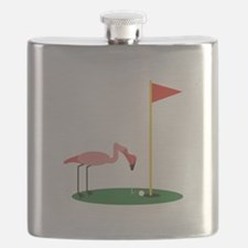 Golf Birdy Flask