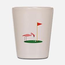 Golf Birdy Shot Glass