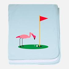 Golf Birdy baby blanket