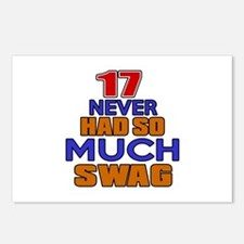 17 Never Had So Much Swag Postcards (Package of 8)