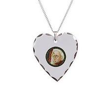 Unique Lemony snicket Necklace Heart Charm