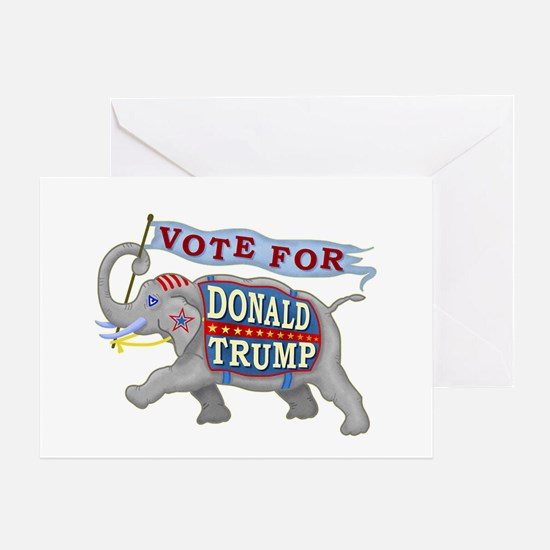 Donald Trump 2016 Elephant President Greeting Card