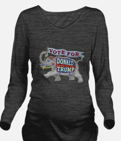Donald Trump 2016 El Long Sleeve Maternity T-Shirt
